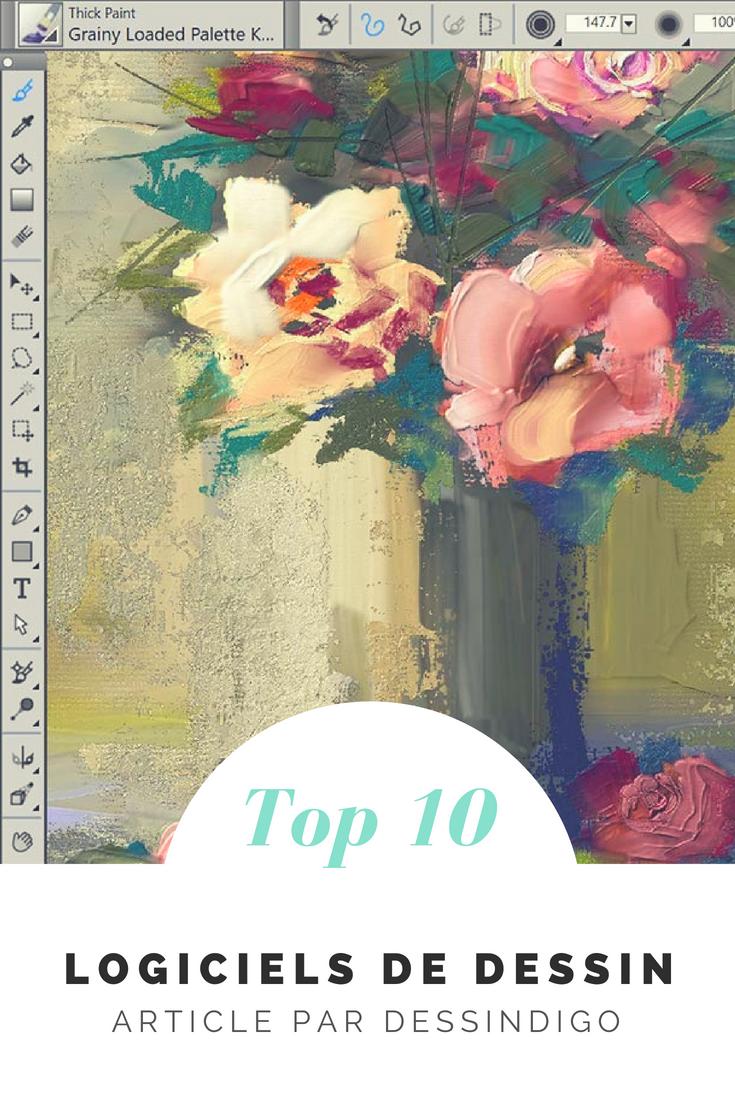 top 10 des logiciels de dessin