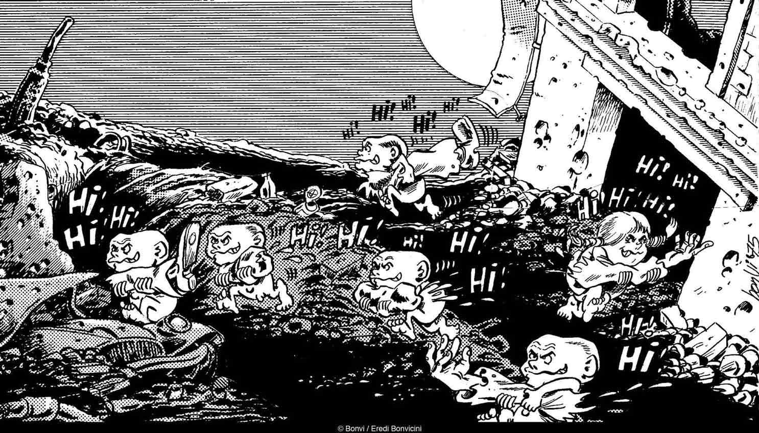 CRONACHE DEL DOPOBOMBA LO SCENARIO È QUELLO DEL FALLOUT NUCLEARE, IL MONDO È ABITATO DA MUTANTI CHE LOTTANO SPIETATAMENTE PER LA SEMPLICE SOPRAVVIVENZA.