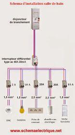 Schema Electrique Branchement Cablage: schéma d\'installation ...