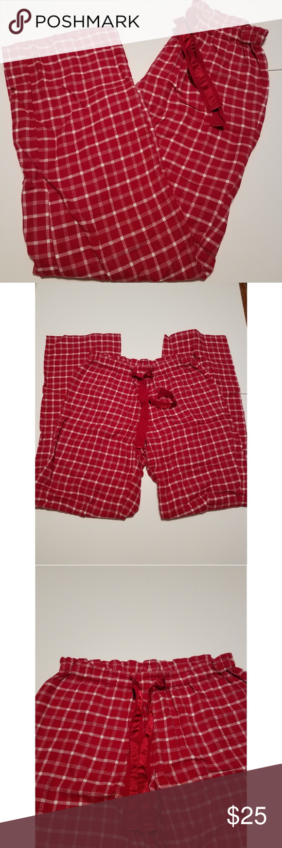 Red flannel pajama pants  Eddie Bauer Womenus Tall PJ Pant