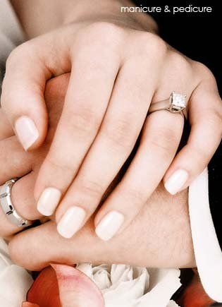 Wedding Nails I Don T Want A French Manicure I Think It S Too