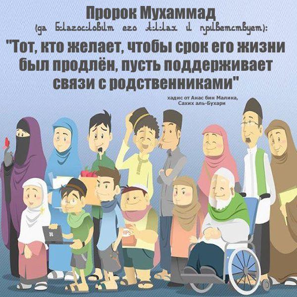 поэтому хадисы в картинках пророка мухаммада при