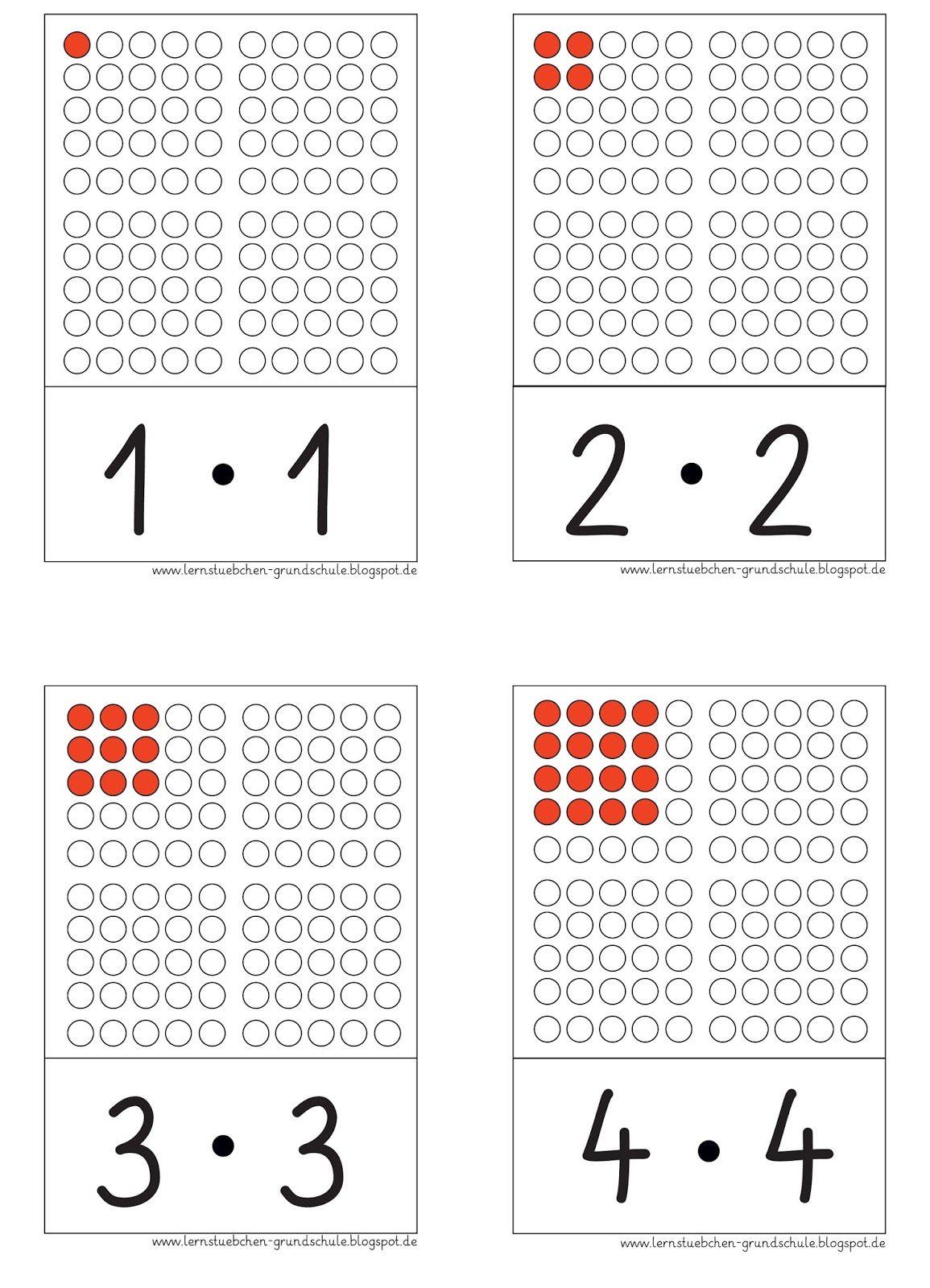 lernst bchen mathe klasse 2 mathe quadratzahlen und mathematikunterricht. Black Bedroom Furniture Sets. Home Design Ideas