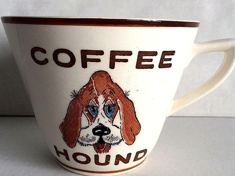 Remarkable, vintage coffee hound mug consider, that