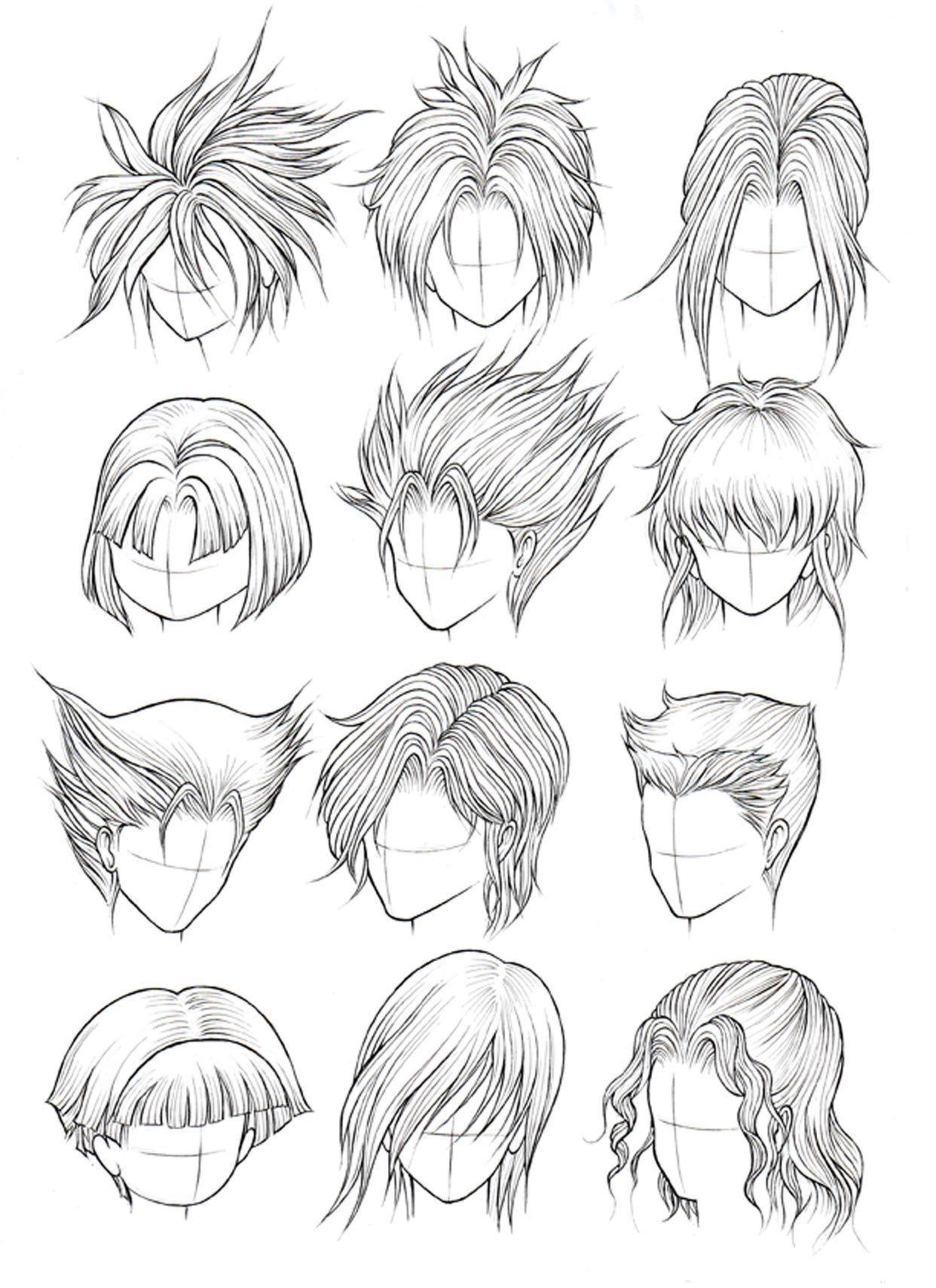 Kanji de Manga Vol 3 cover image Cabelo desenho