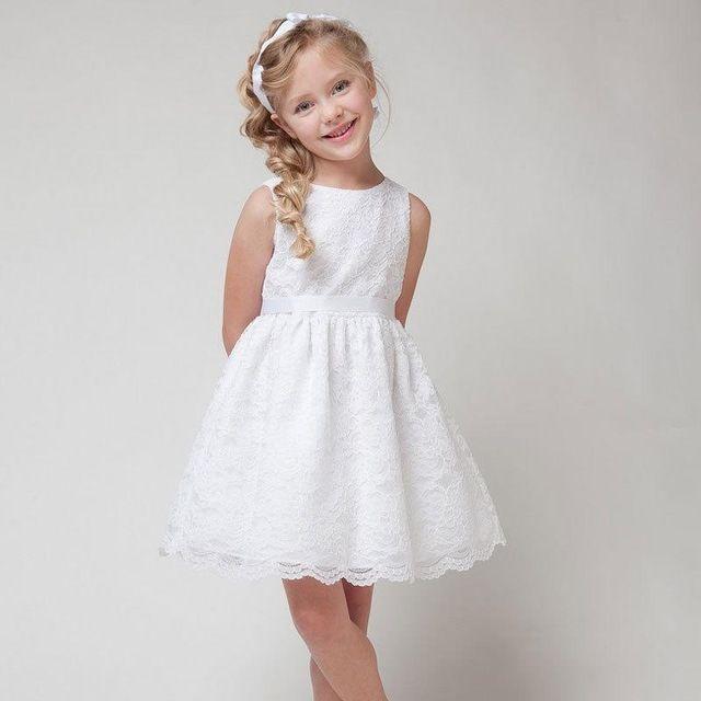 Vestidos blancos nina baratos