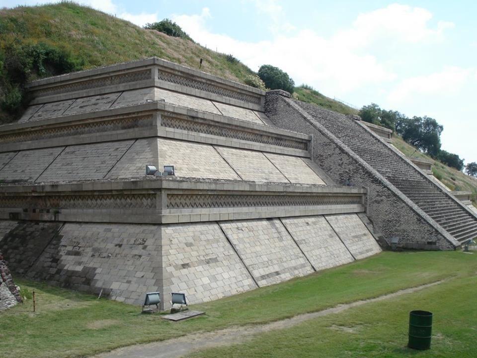 Gran pirmide de Cholula Puebla. [Ssaul Salomon Olivaares]