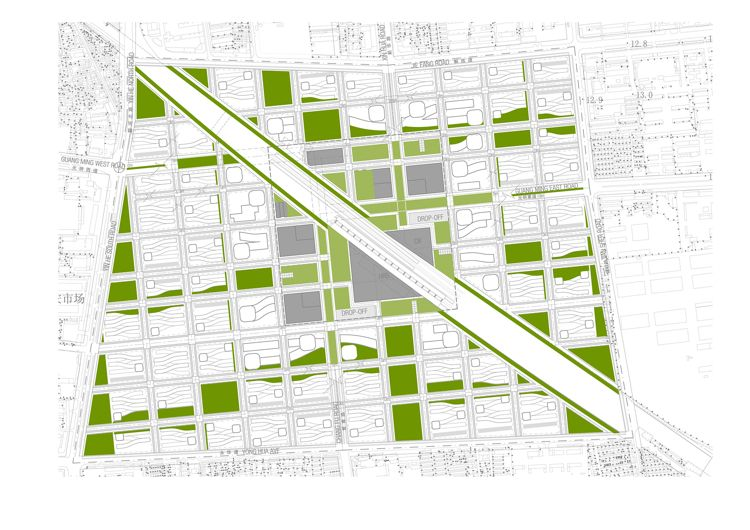 In China, a Radical Proposal to Turn an Old City Green   Co.Design   business + design