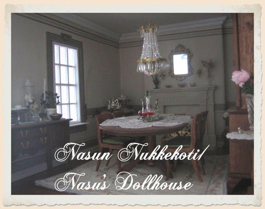 Nasun nukkekoti / Nasu's Dollhouse  minitures
