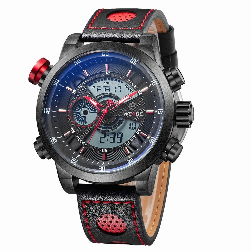 Mens Luxury Military Sport Watch - WEIDE 1