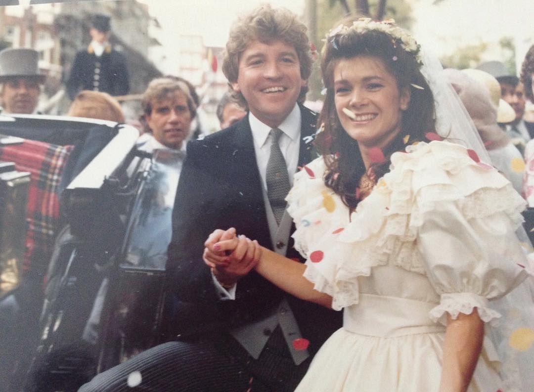 Pandora Vanderpump Sabo Gave Her Parents Anniversary A Nod Sharing Lisa And Ken S Wedding Photo On Instagram