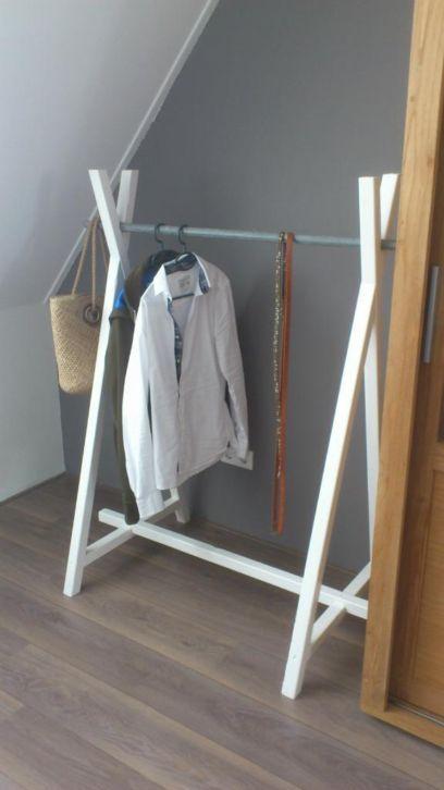 leuk kledingrek. leuk kledingrek    DIY   Pinterest   Laundry rooms  Laundry and