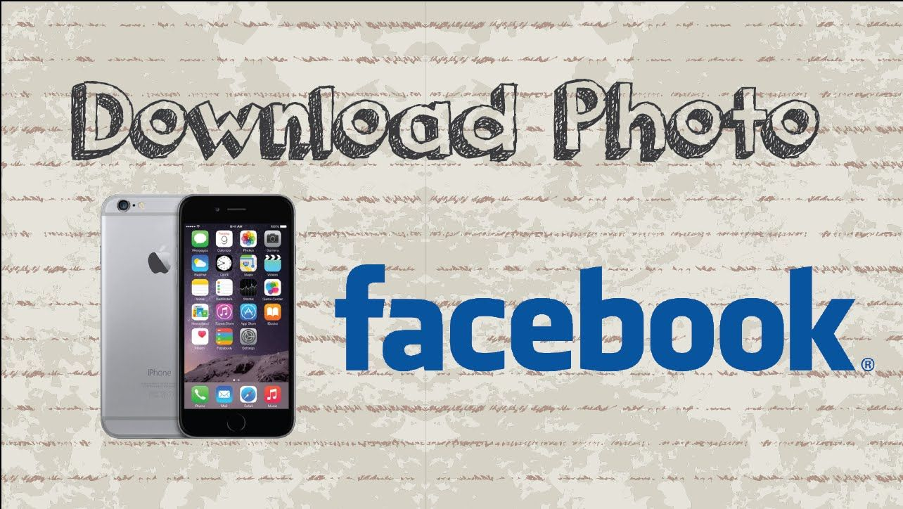 How to download photo from Facebook Mobile App (Android