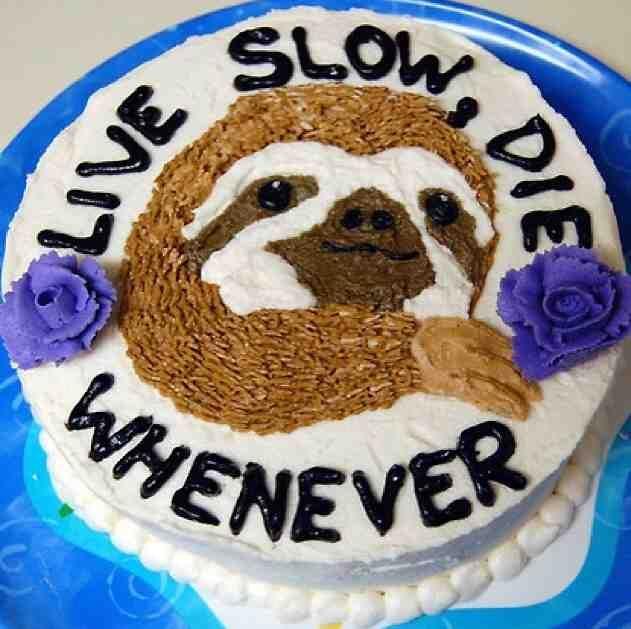 Sloth Cakes, Cake, Cupcake