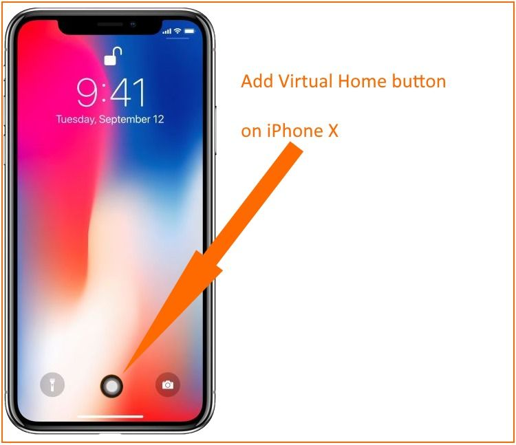 iphone home screen button add home button on iphone x customize no gesture 15299