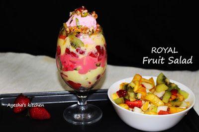 Royal Fruit Salad Best Fruit Salad Recipe Best Fruit Salad Dessert Recipes Easy Easy Fruit Salad Recipes