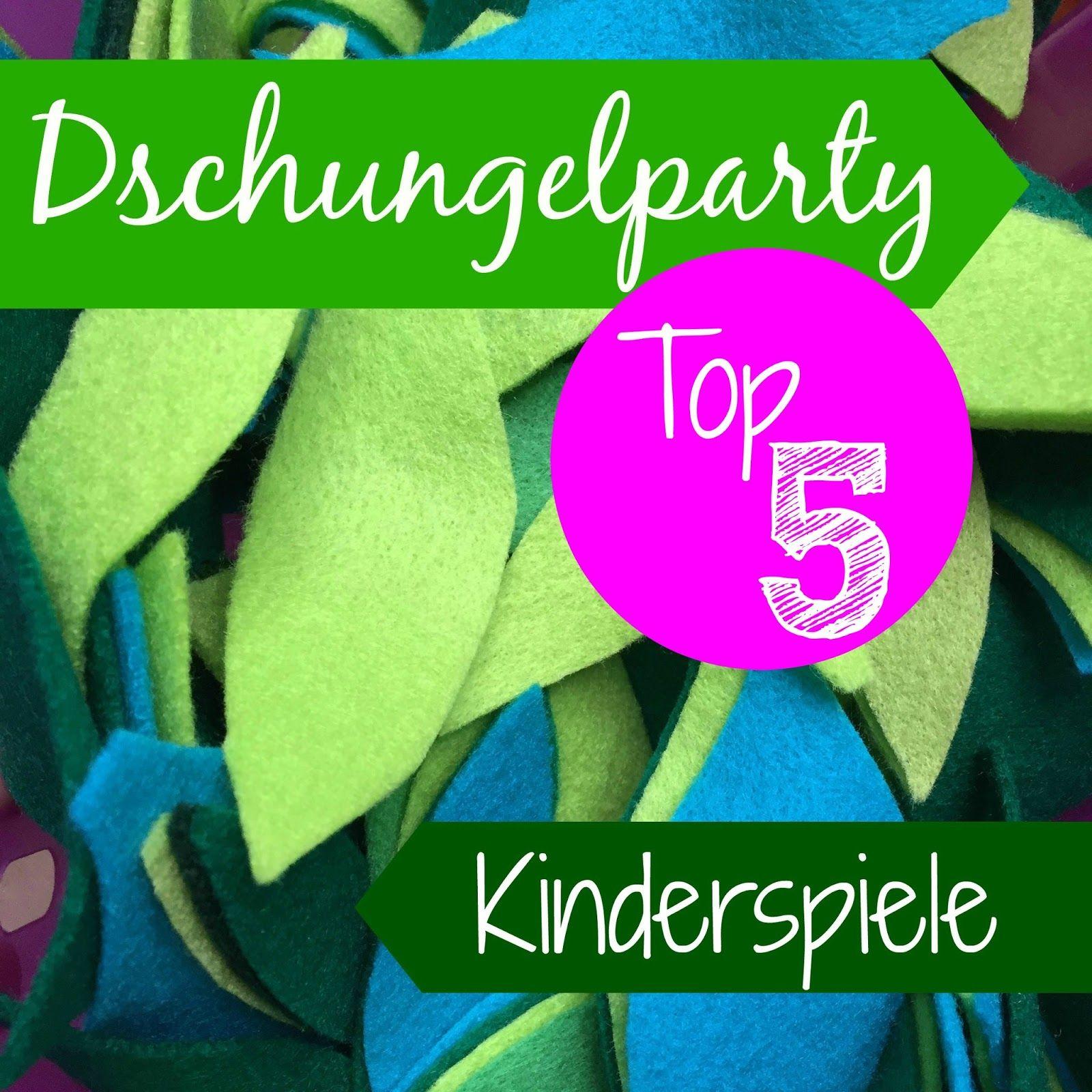 top 5 spiele f r den kindergeburtstag bei einer dschungelparty kindergeburtstag pinterest. Black Bedroom Furniture Sets. Home Design Ideas