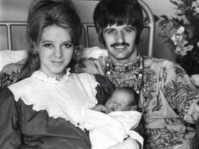 Maureen, Ringo, and newborn Jason Starkey (August 19, 1967 ...