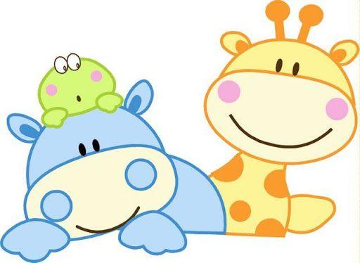 Pin De Maria Aguirre En Ideas De Inspiración Jirafa Bebé Animales Bebes Animados Molde De Animales