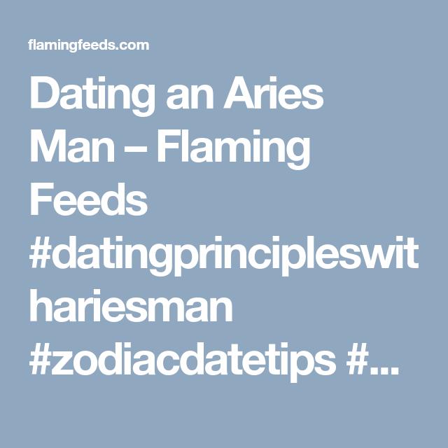 Zodiac dating an aries man
