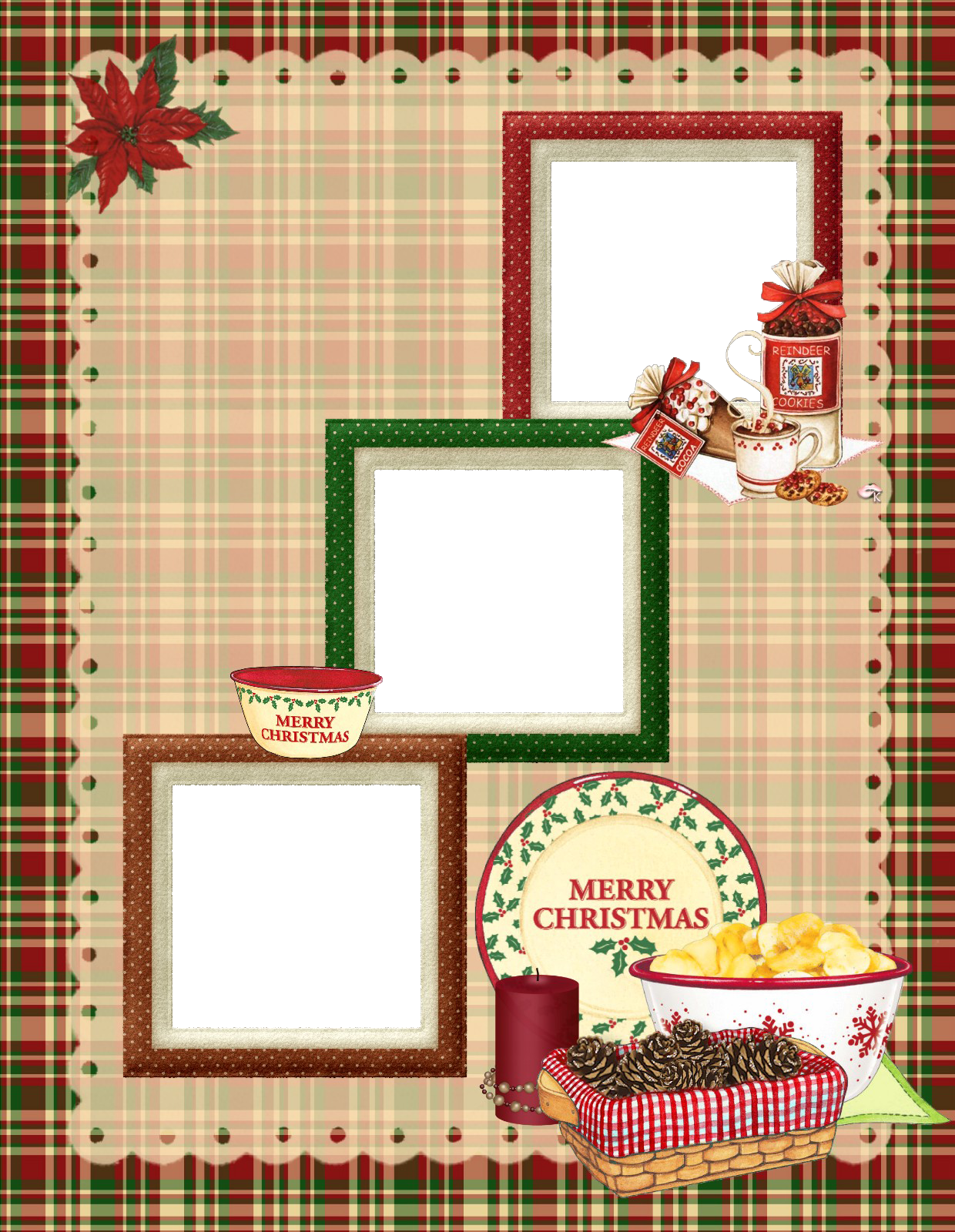 It is a photo of Slobbery Printable Scrapbook Pages