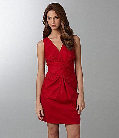 Maids?DKNYC Sleeveless Wrap-Waist Dress | Dillards.com