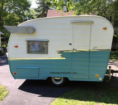 Vintage 1964 Shasta Compact Trailer Shasta Trailer Vintage