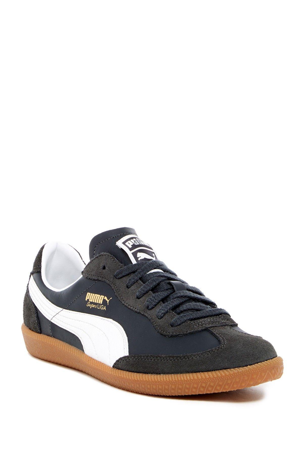 PUMA | Super Liga OG Retro Leather Sneaker in 2020