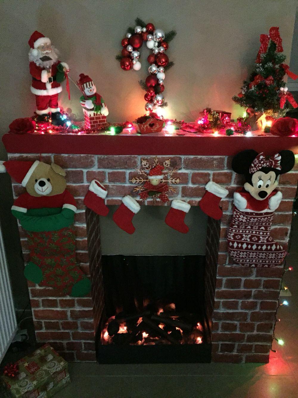 Navidad Adornos De Navidad Ideas Murales De Navidad Cortinas Chimeneas Navidenas De Carton Decoracion Navidad Manualidades Decoracion De Chimeneas Navidenas