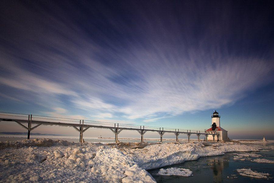 Michigan City Lighthouse, Indiana | Kaum zu glauben – 21 beeindruckende Fotos von den USA