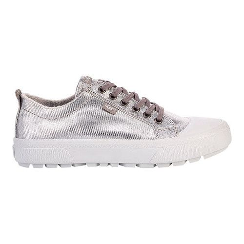 bf5a1931c88 Women's UGG Aries Sneaker - Silver Metallic Canvas Sneakers in 2019 ...