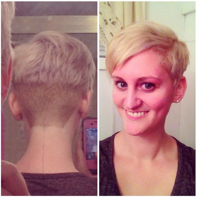 No more #roots and a fresh #undercut! I love changing, playing with ...