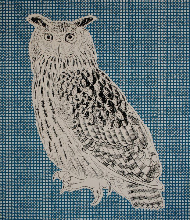 our limited edition owl series are hand screen printed onto somerset velvet newsprint specialty paper all acid free albert owl is a
