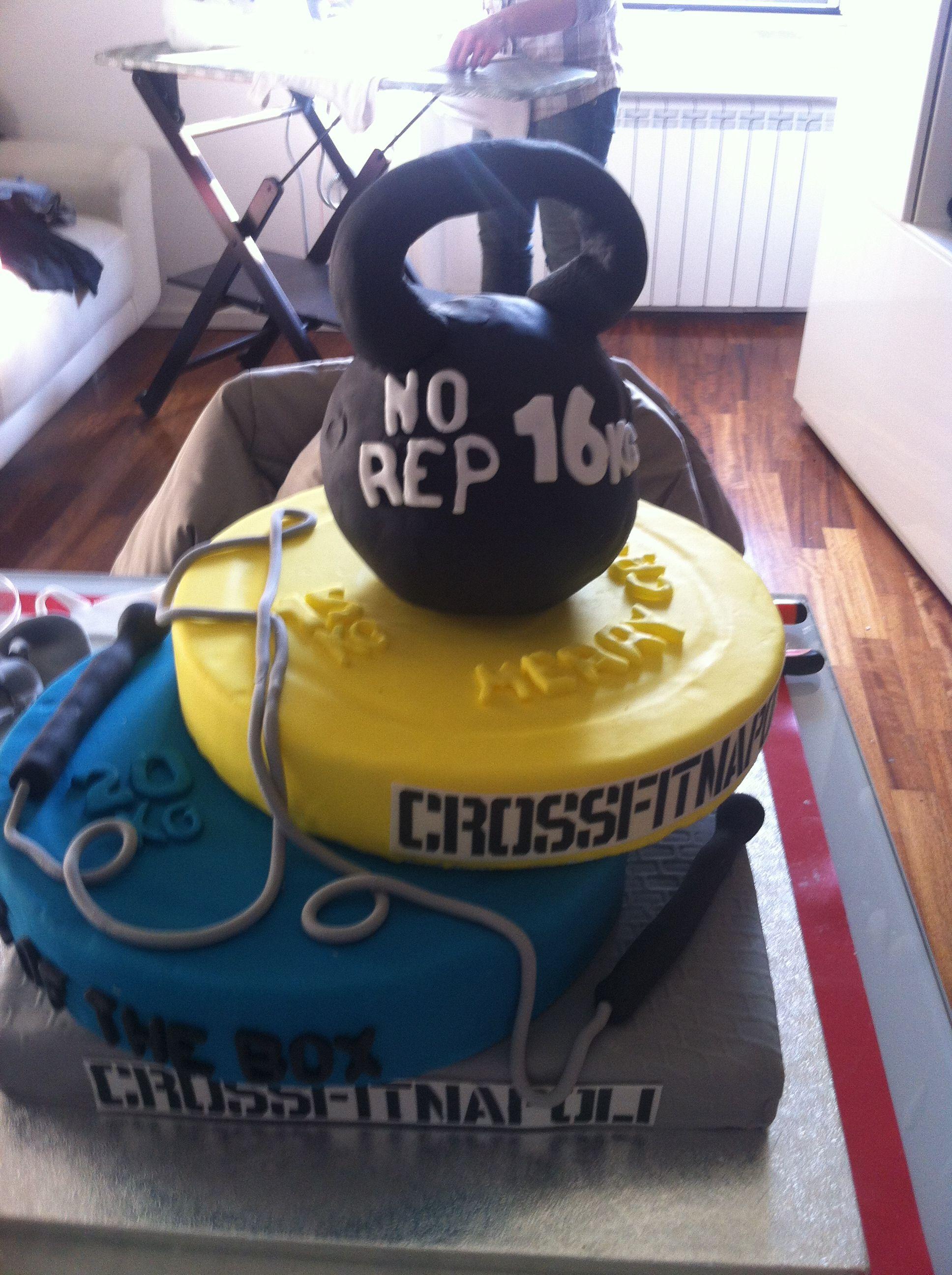 Crossfit Cake Crossfit Crossfit Cake Gym Cake Fitness Cake