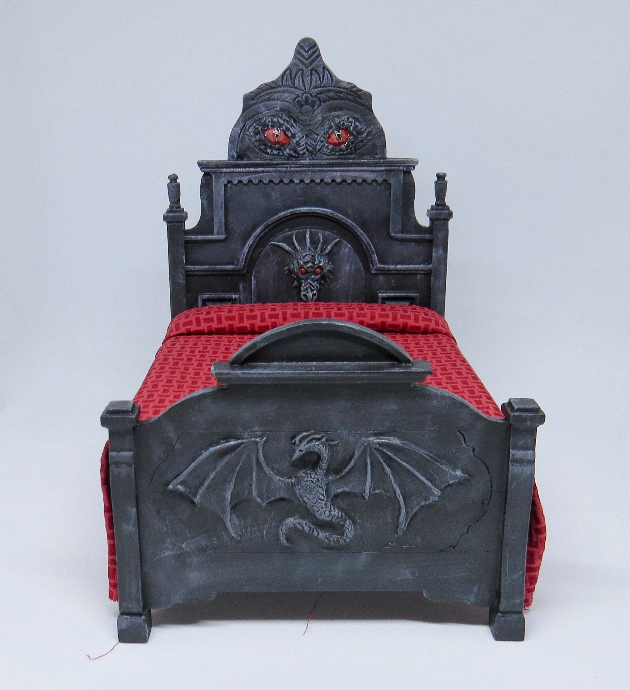Gothic Dragon Bed.