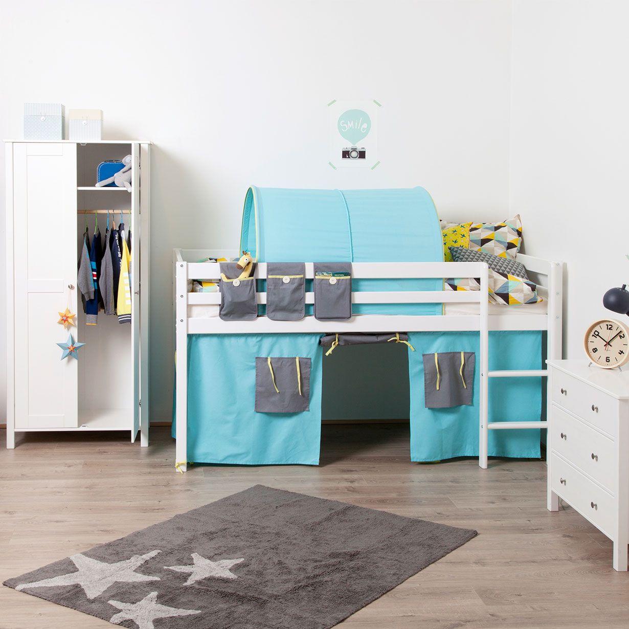 Flexa Thuka Halfhoogslaper.Flexa On Lovethesign Kids Flexa Bed Bed Pocket Mid Sleeper Bed