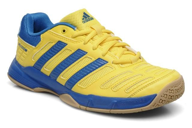 check out 5b455 1c230 Adidas Stabil Essence 10 Yellow. Find this Pin and more on Adidas Squash  Shoes ...