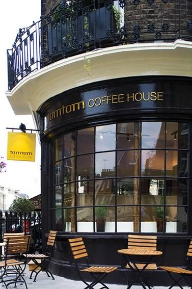 coffee-and-wood: Belgravia, London, UK ~ Tomtom coffee house