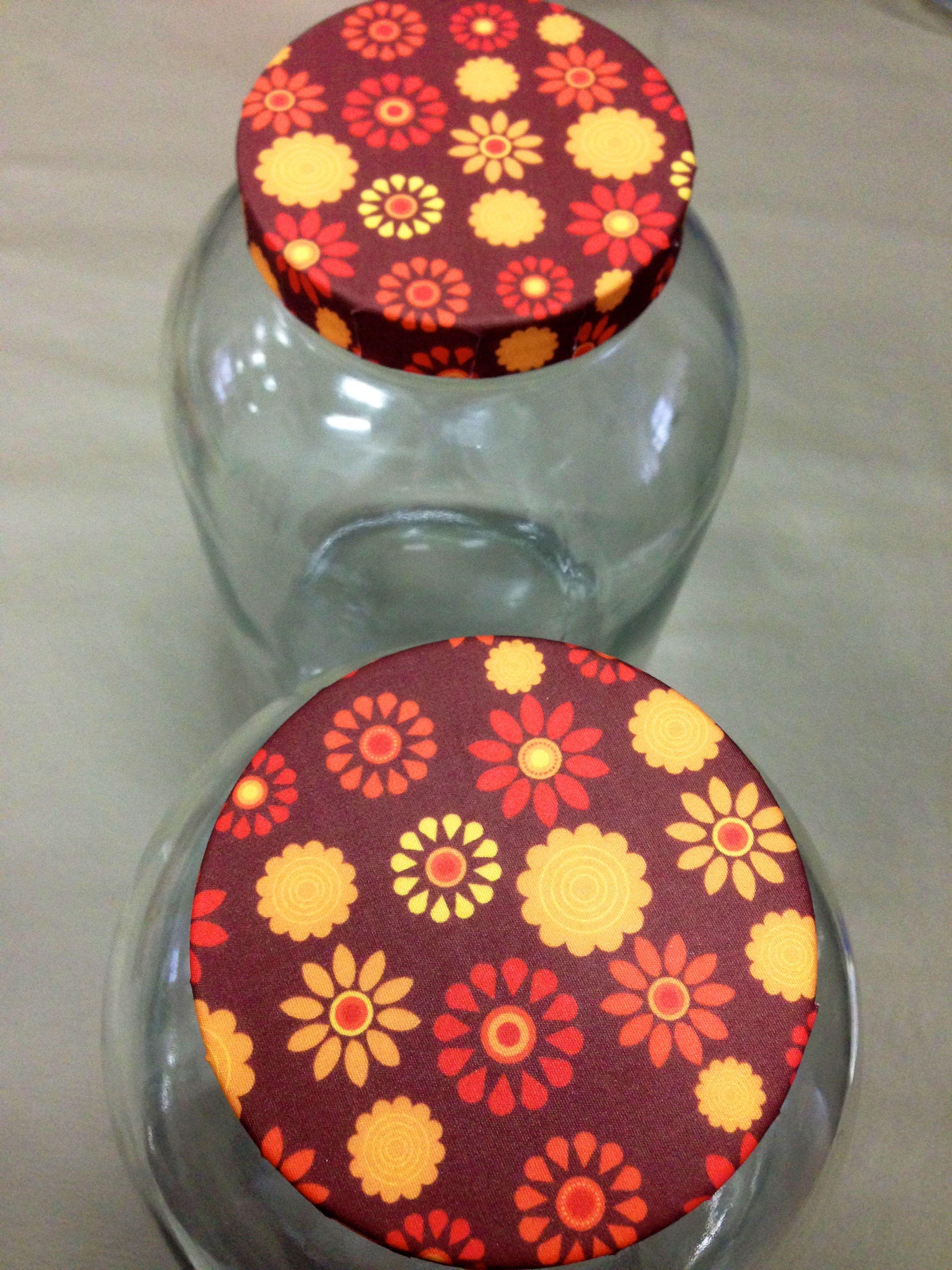 Adesivo De Bicicleta Monark ~ tecido adesivo para forrar tampas de potes de vidro Fazendo arte Pinterest Tecidos