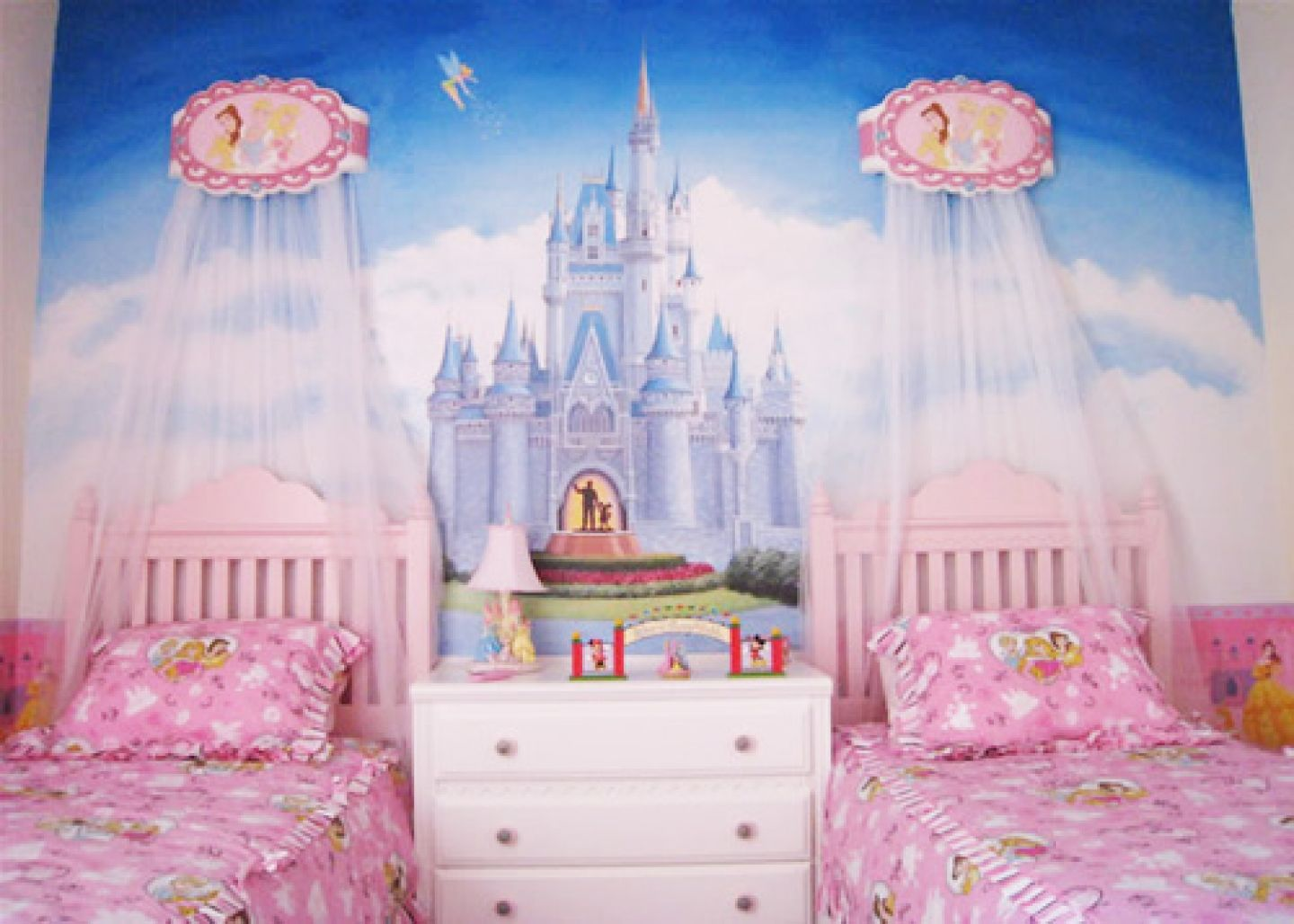 Kids Room Decorating Ideas Part - 27: Princess Palace At The 27 Cool Kids Bedroom Theme Ideas