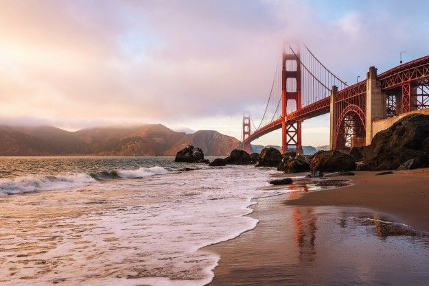 Best California Beaches Baker Beach San Francisco Park It Here And Snap A