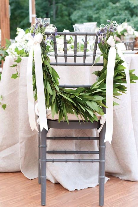 10 Creative Chair Decor Ideas Wedding Chairs Unique Wedding Flowers Chair Decorations