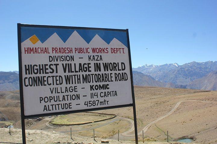 WorldsHighestVillage KomicVillage Situated At A Towering - Sea level altitude