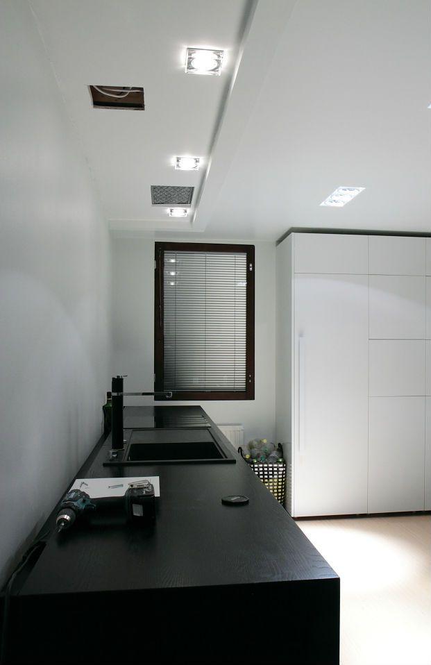 Spot encastrable carr vancouver 230v ip65 chrome for Spot encastrable plafond design