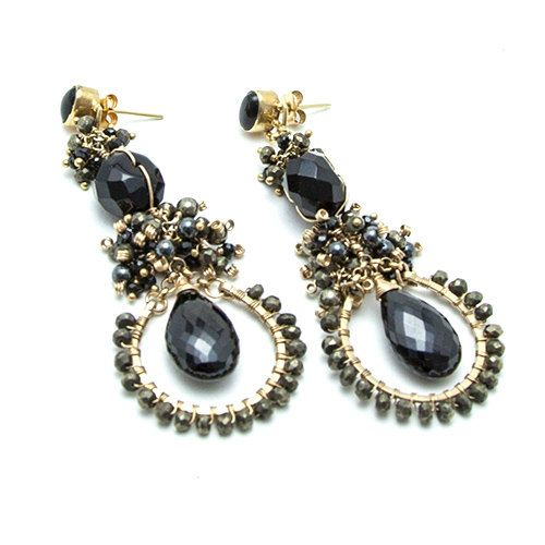 Just because earrings