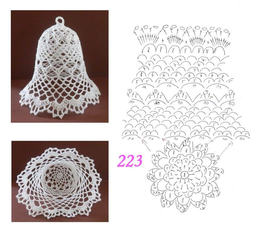 35df9ba91549bbc9df85cdb9264bf6db Jpg 885 794 Christmas Crochet Patterns Christmas Crochet Crochet Doily Patterns