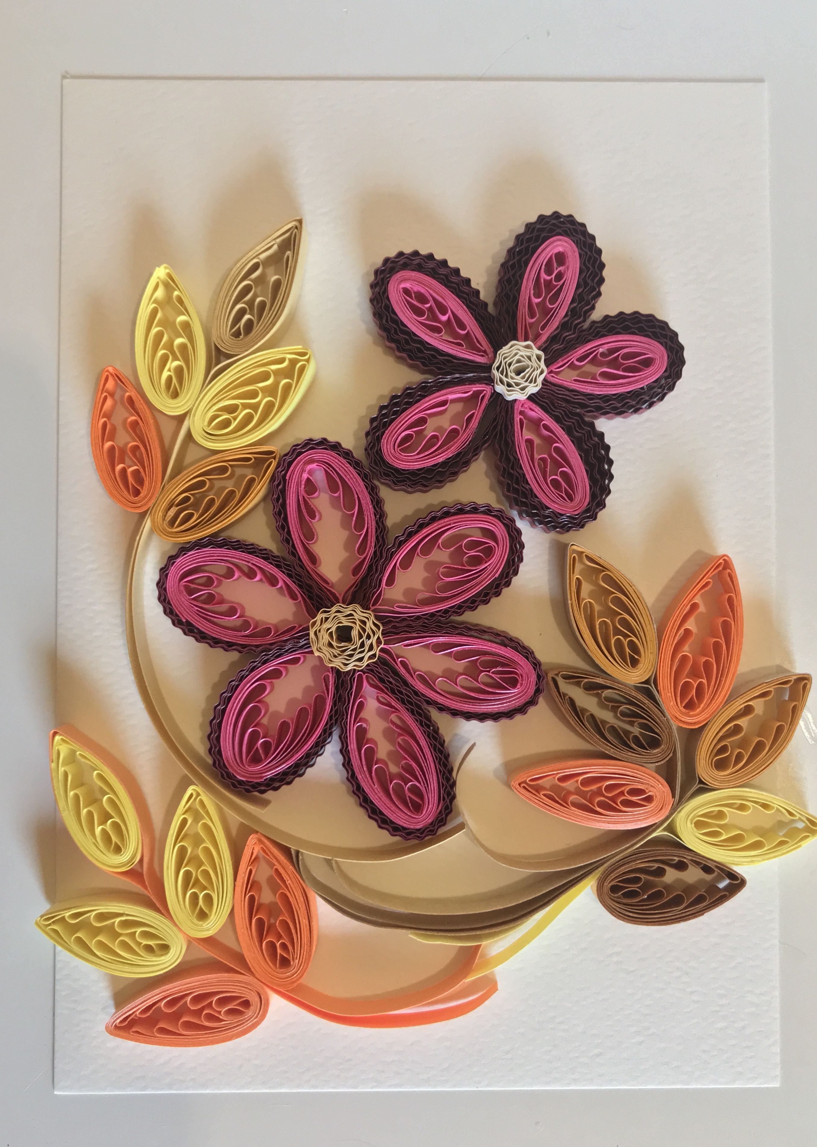 Pin By Gramariche On Flores Quilling Quilling Cards Quilling Art