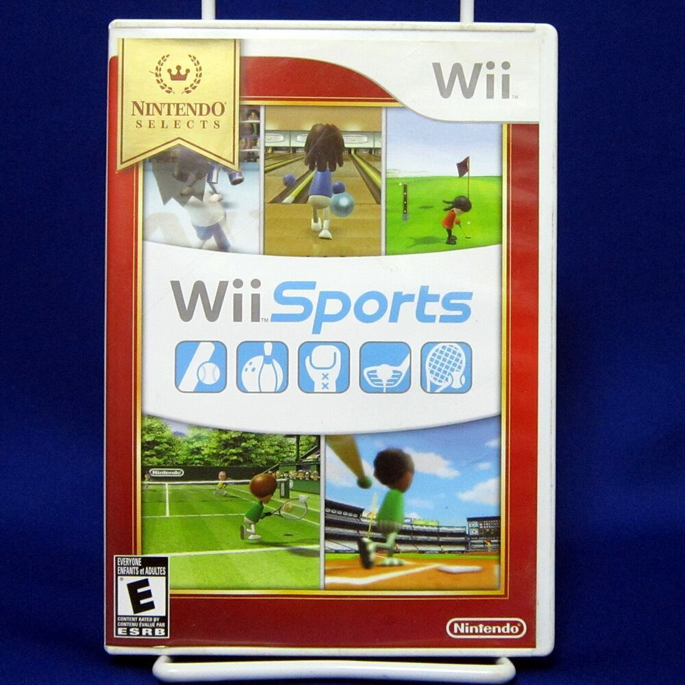 Details about Wii Sports Nintendo Selects Tested