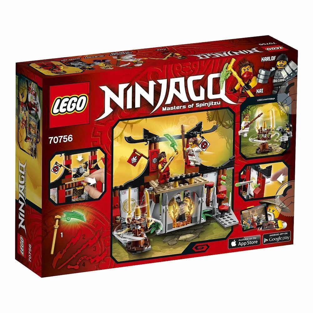 LEGO Ninjago 70756 Dojo Showdown_215 pcs/pzs_New Sealed Set In Box #LEGO