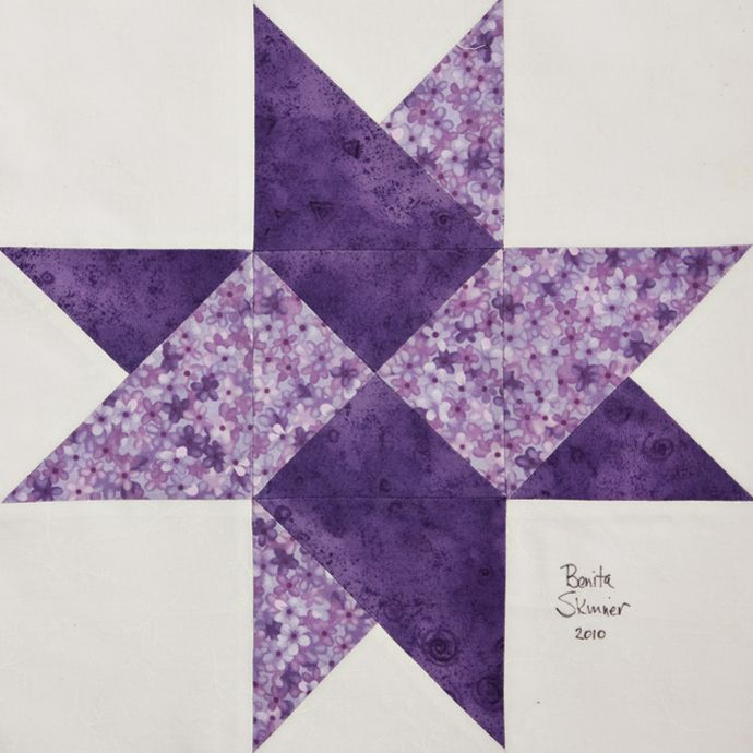 "Free Star Quilt Patterns Blocks | Isabelle"" by Lynda Howell ... : twisted star quilt block - Adamdwight.com"